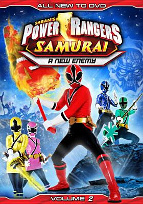 POWER RANGERS SAMURAI:NEW ENEMY VOL 2 BY POWER RANGERS (DVD)